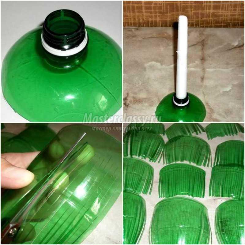 Иностранные поделки из пластиковых бутылок 97