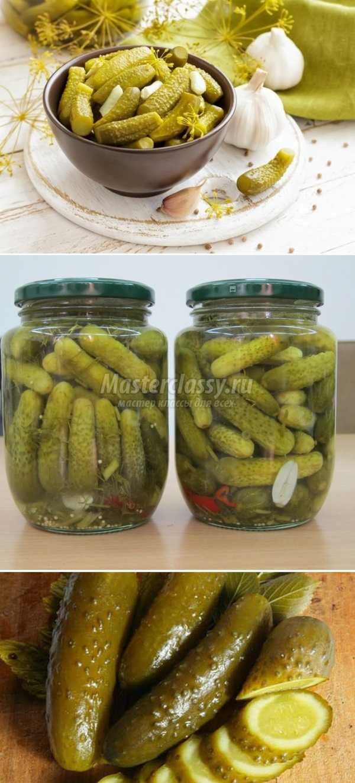 Огурцы на зиму рецепт пошагово с