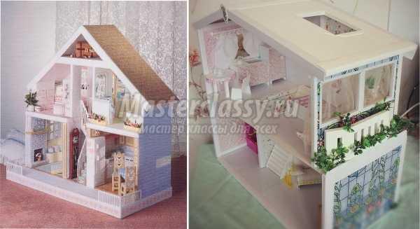 Кукольный домик своими руками: как сделать своими руками