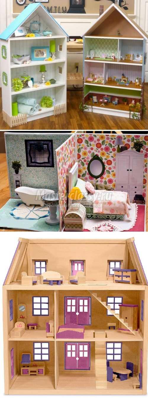 Кукольный домик своими руками из гипсокартона пошагово 63
