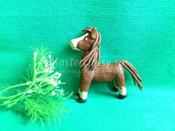 Как сделать лошадь из пластилина своими руками поэтапно 28