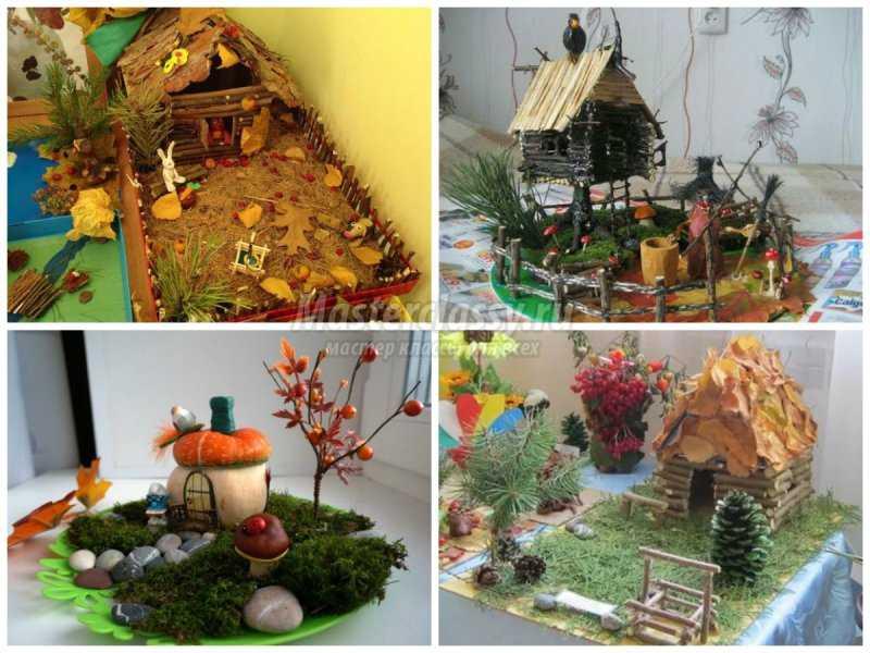 Поделки для детского сада тема осень фото 74