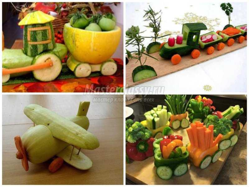 Осенние своими руками из овощей