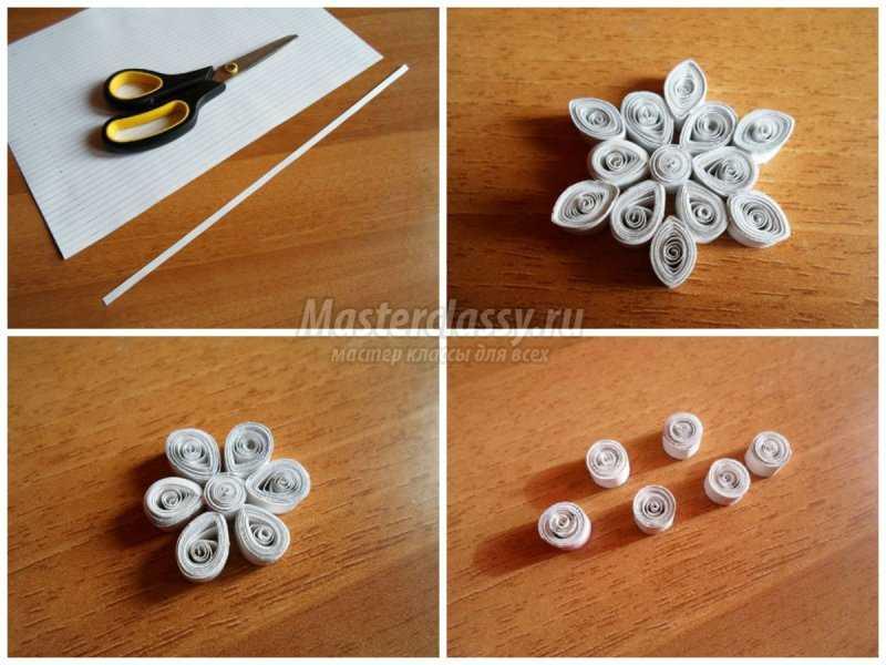 Объемные снежинки из бумаги: делаем просто и быстро