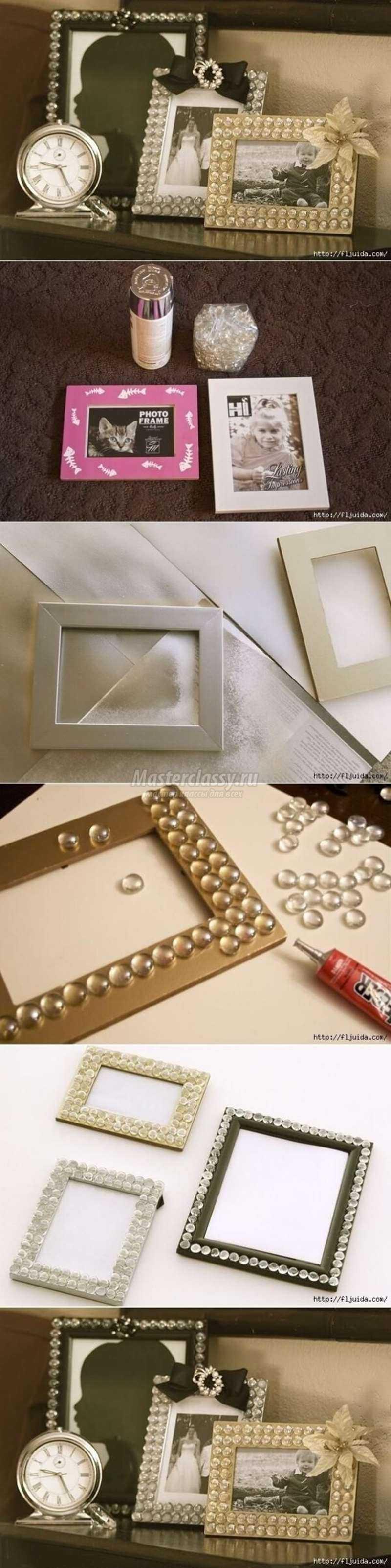 Серебряная рамка своими руками