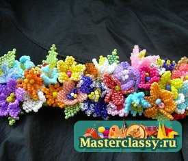 Схемы цветов из бисера - Master classy - мастер классы для вас