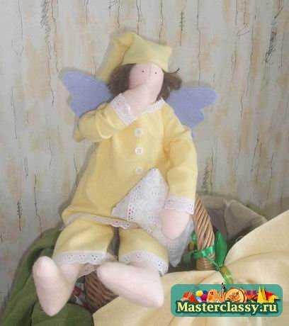 Тильда - ангел - для защиты дома