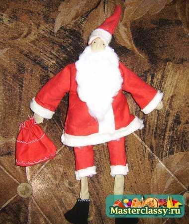 Дед Мороз. Мастер класс