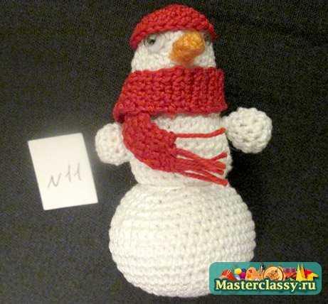 Снеговик. Мастер класс