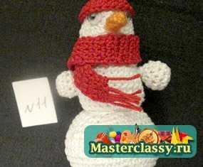 1312188601_1 Снеговик своими руками на Новый год из подручных материалов