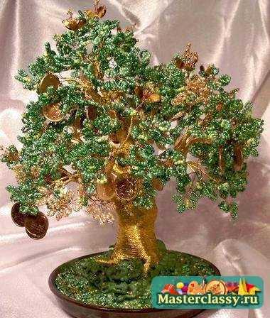 Бисероплетение деревья и цветы