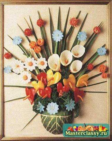 Поделки из цветов своими руками