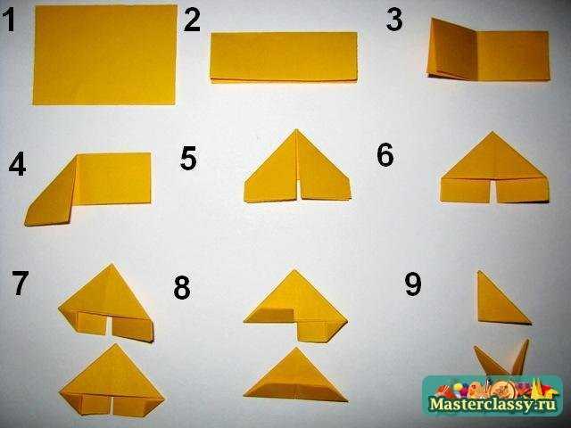 Схемы модульные оригами из бумаги