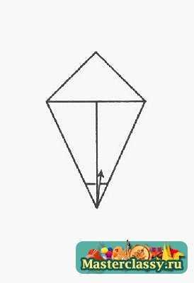 Оригами Волк