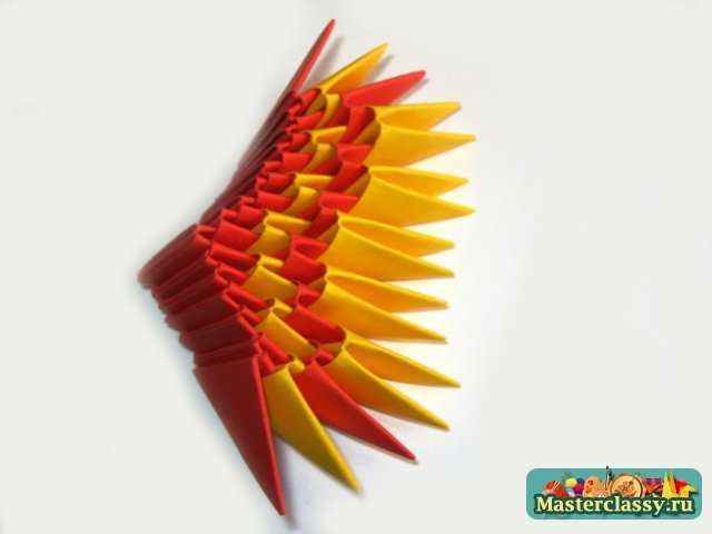 Крыло дракона четвертый ряд
