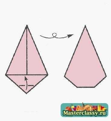 Оригами Петушок