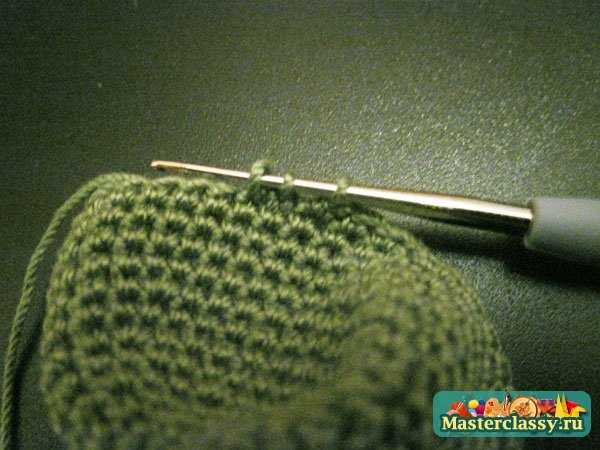 вязание крючком дракон