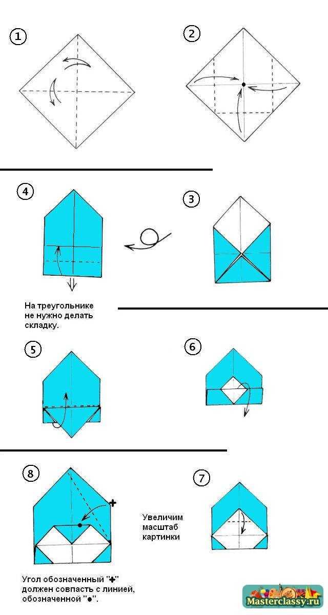 Крышка со звездой – схема 1