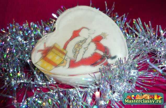 мыловарение Новый год Дед Мороз