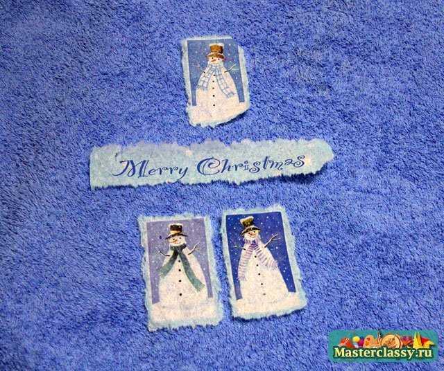 рождественские поделки сапожок своими руками