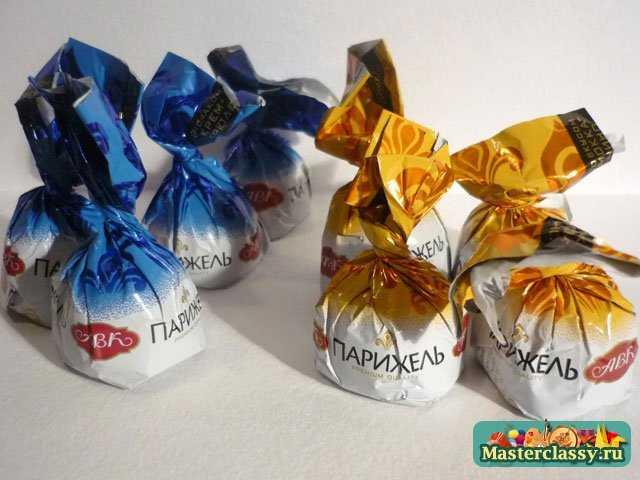 Подарки своими руками. Машина с конфетками