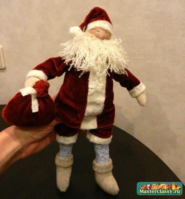 Тильда Санта Клаус. Мастер класс