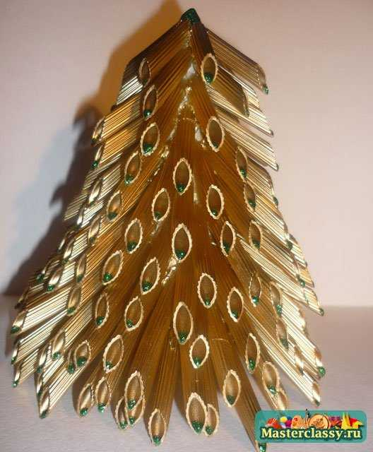 Декор из макарон своими руками 382
