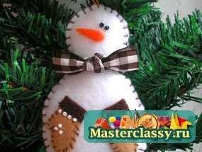 1322635322_1 Снеговик своими руками на Новый год из подручных материалов