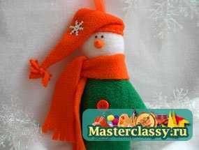 1322718254_1 Снеговик своими руками на Новый год из подручных материалов