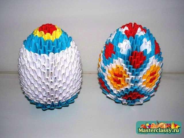 Сборка модульного яйца
