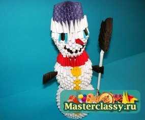 1322891921_sv-00 Снеговик своими руками на Новый год из подручных материалов