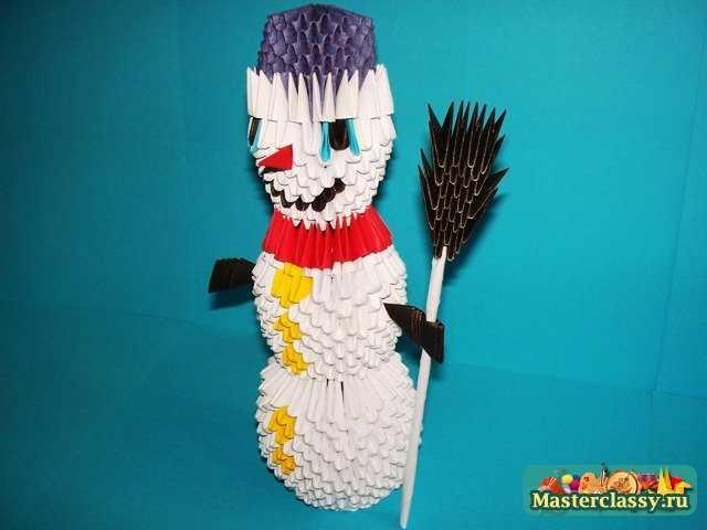 1322891995_sv-39 Снеговик своими руками на Новый год из подручных материалов