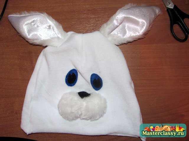 костюм зайца для мальчика своими руками