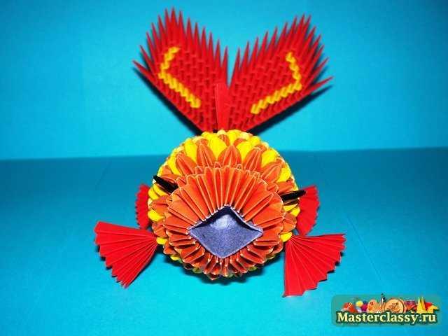 Рыбка оригами Виды