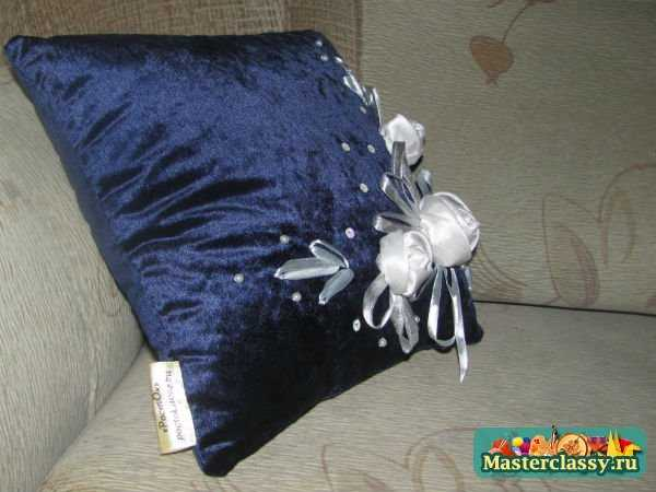 подушка своими руками