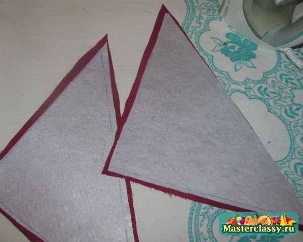 изготовление подушки руками