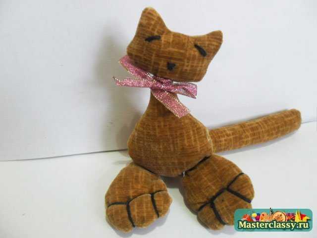 игрушки своими руками кошка с сердцем