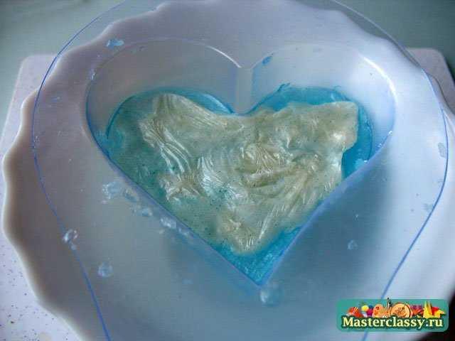 Мыловарение. Бирюзовое сердце