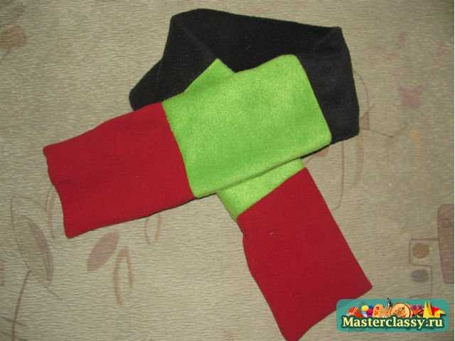 шарф снеговика своими руками