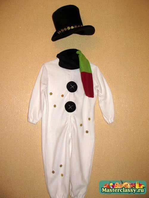 костюм для мальчика Снеговик