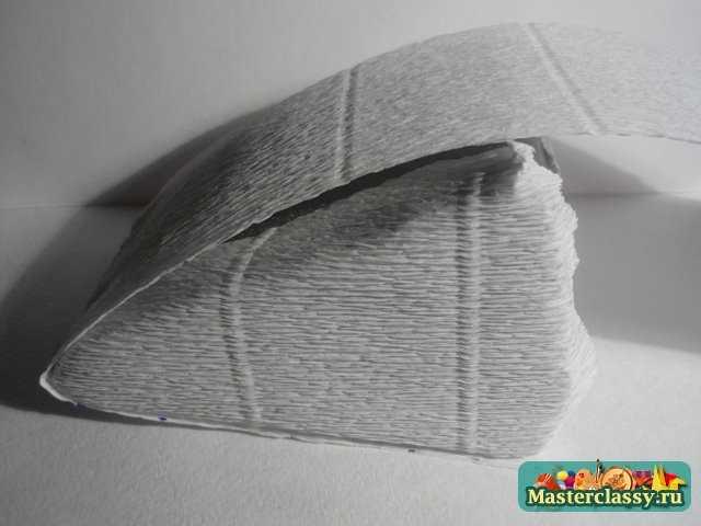гофрированная бумага подарок своими руками