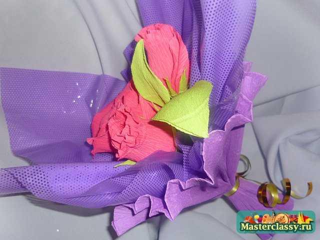 Как сделать упаковку из гофрированной бумаги