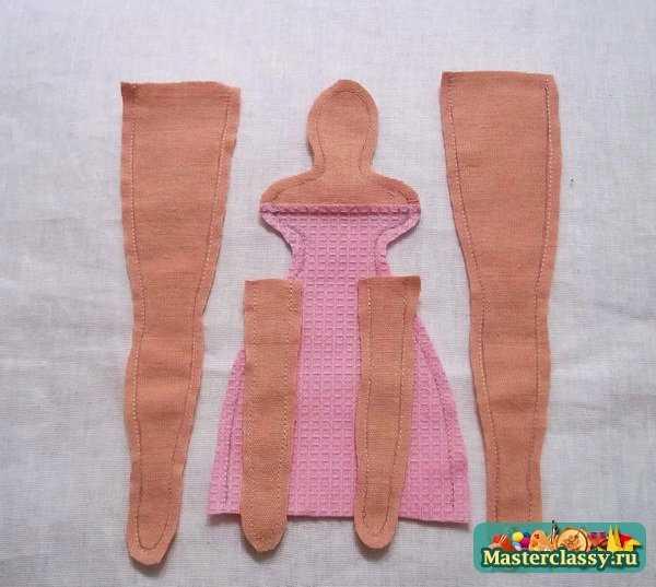 кукла тильда в халате