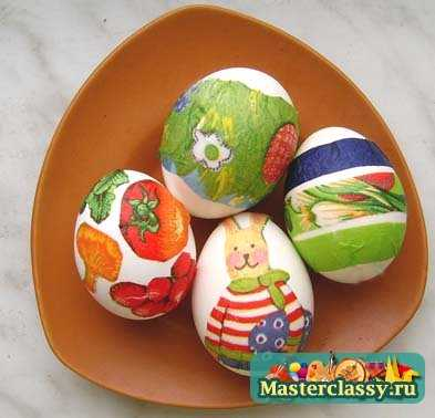 Поделки из гипса: декоративные яйца к Пасхе