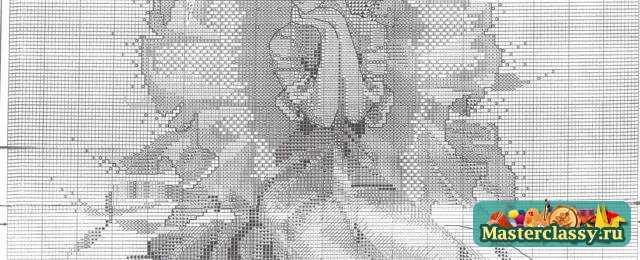 схема фея для вышивки