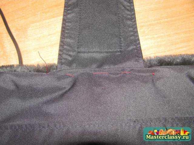 Муфта для рук мастер класс по пошиву