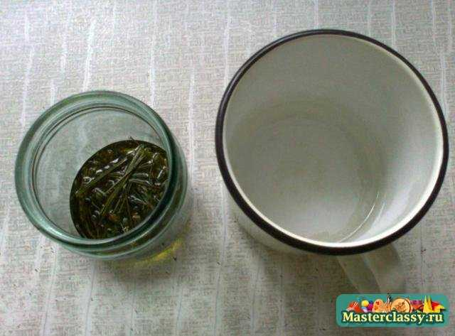 Крем для тела с лавандой и чередой на основе оливкового масла