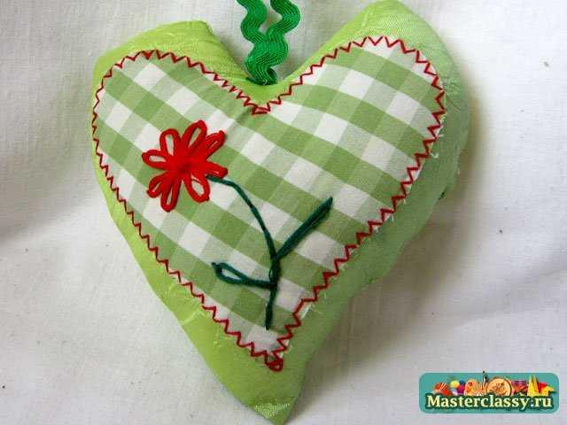 Сердечко валентинка своими руками
