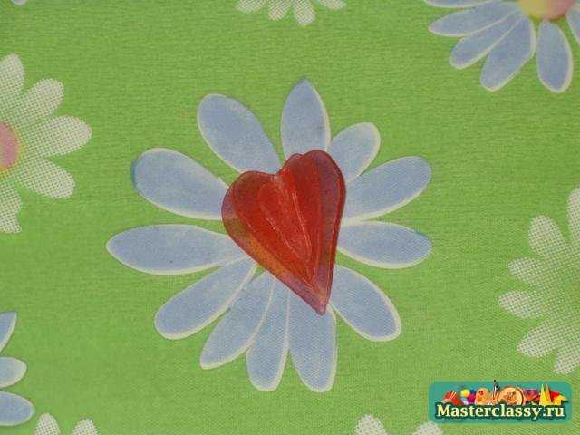 Мыло сердце. Мастер класс