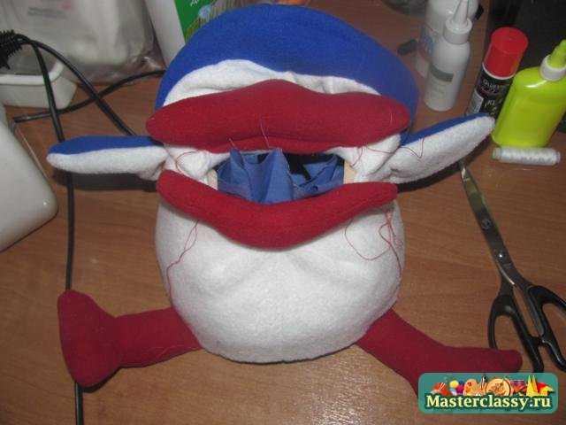 Развивающая игрушка своими руками Пингвин Мастер класс